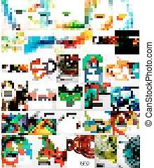 Un conjunto de antecedentes abstractos