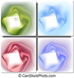 Un conjunto de antecedentes cuadrados abstractos