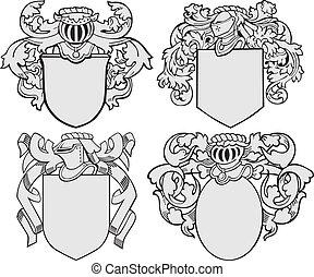Un conjunto de emblemas aristocráticos No5