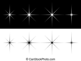 Un conjunto de estrellas brillantes
