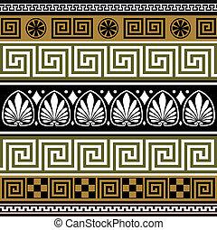 Un conjunto de fronteras griegas