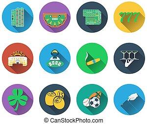 Un conjunto de iconos de juego