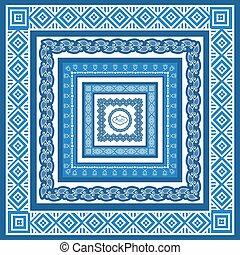 Un conjunto de marcos de estilo árabe