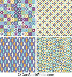 Un conjunto de patrones abstractos