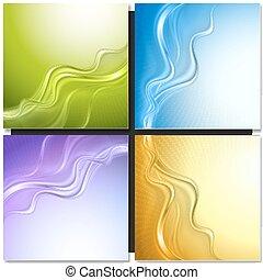 Un conjunto de vectores abstractos