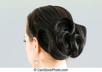 Un corte de pelo de mujer