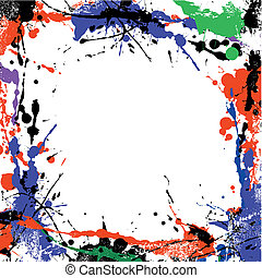Un cuadro de arte sucio