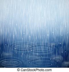 Un día lluvioso