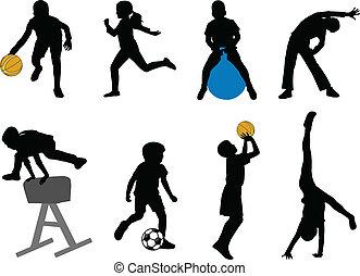 Un deporte infantil