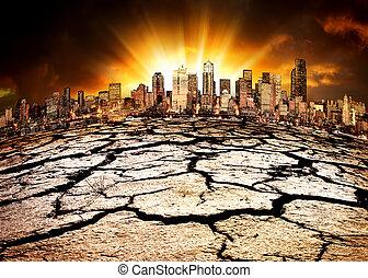 Un desastre ambiental
