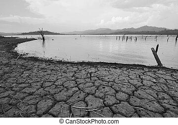 Un desastre natural. Clima Arid
