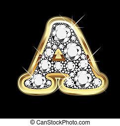 Un diamante de oro