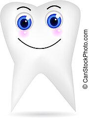 Un diente feliz