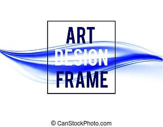 Un diseño de arte abstracto y elegante