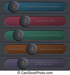 Un diseño de colores creativo