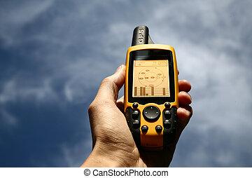 Un dispositivo GPS