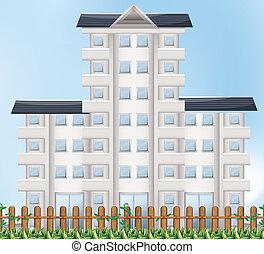 Un edificio alto