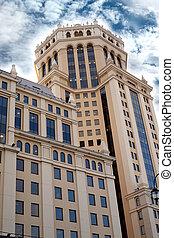 Un edificio de oficinas de alto nivel