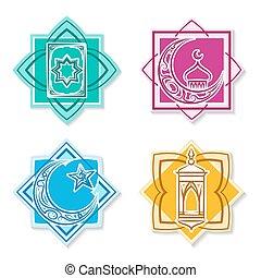 Un emblema islámico