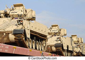 Un envío militar