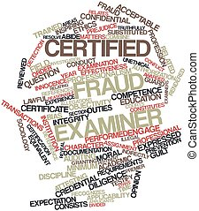 Un examinador de fraude certificado