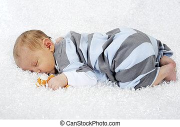 Un fardo recién nacido