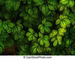 Un follaje colorido