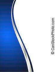 Un fondo abstracto azul