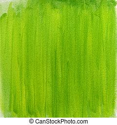 Un fondo abstracto de color verde primaveral