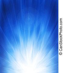 Un fondo azul