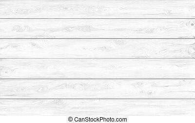 Un fondo blanco de madera