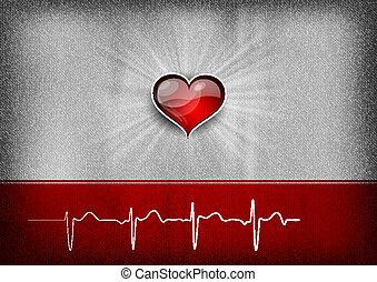 Un fondo cardíaco