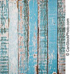 Un fondo colorido de madera