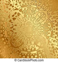 Un fondo con decoración oriental