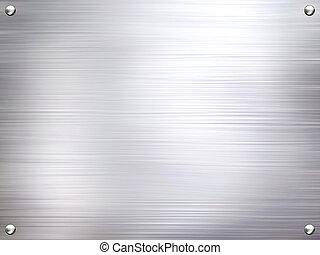 Un fondo de acero de metal.