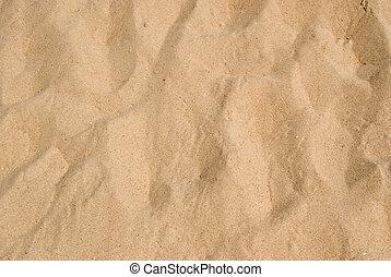 Un fondo de arena