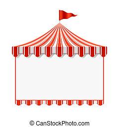 Un fondo de circo