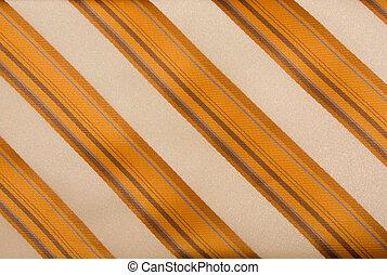 Un fondo de corbata rayada