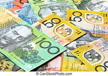 Un fondo de dinero australiano