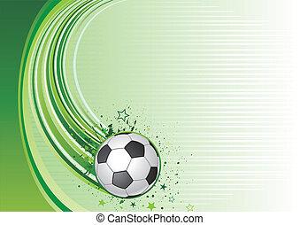 Un fondo de fútbol