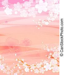 Un fondo de flores
