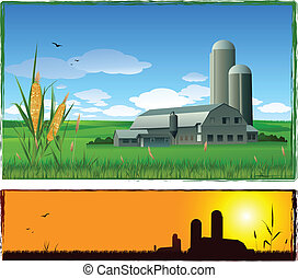 Un fondo de granja