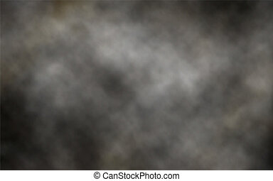 Un fondo de humo oscuro