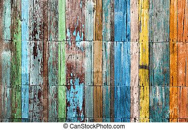 Un fondo de madera para papel tapiz Vintage