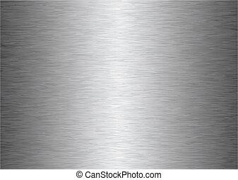Un fondo de metal gris
