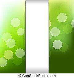 Un fondo de naturaleza verde con bokeh