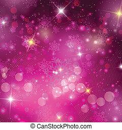 Un fondo de Navidad rosa
