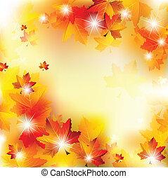 Un fondo de otoño