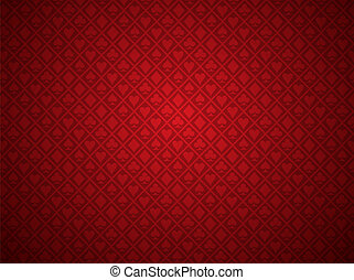Un fondo de póquer rojo