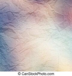 Un fondo de papel antiguo y texturizado